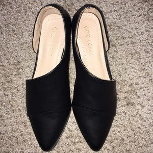 Chase & Chloe Black Bootie